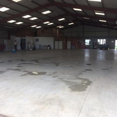 Le hangar 36 tout propre